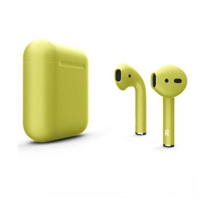 Наушники Apple AirPods 2 Лимонно кремовый