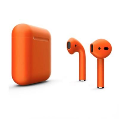 Наушники Apple AirPods 2 Оранжевые