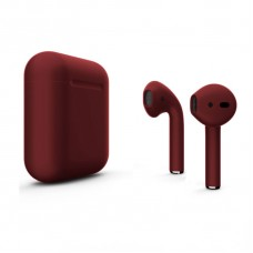 Наушники Apple AirPods 2 Бордовые