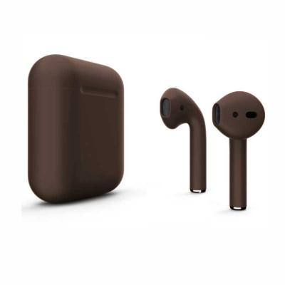 Наушники Apple AirPods 2 Темно коричневые