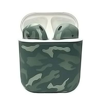 Наушники Apple AirPods 2 камуфляж (зеленый)