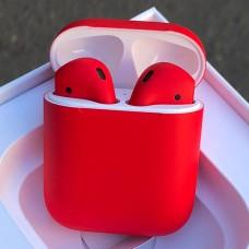 Наушники Apple AirPods 2 Красные