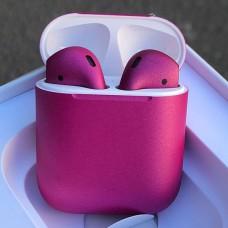 Наушники Apple AirPods 2 Малиновые
