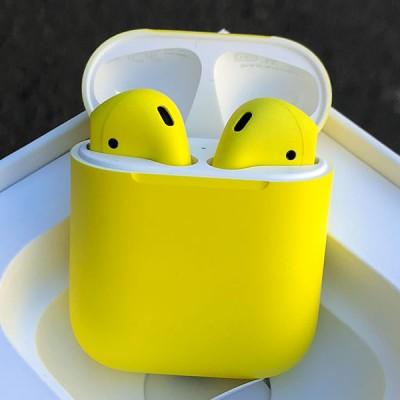 Наушники Apple AirPods 2 Желтые