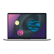 Apple MacBook Pro 16 Retina Touch Bar Z0XZ0079A Space Gray (2,4 GHz Core i9, 64GB, 1TB, Radeon Pro 5600M)