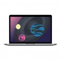 Apple MacBook Pro 13 Retina MPXQ2 Space Gray (2.3GHz, 8GB, 128GB)