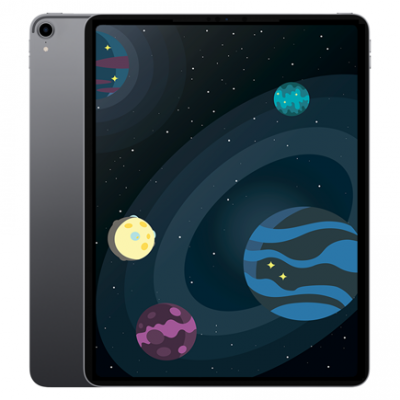 "Apple iPad Pro 12.9"" (2018) 64Gb Wi-Fi + Cellular Space Gray"