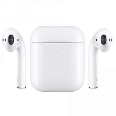 Беспроводные Наушники Apple AirPods 2 c беспроводной зарядкой