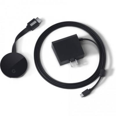 Медиа-приставка Google Chromecast Ultra