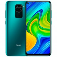 Смартфон Xiaomi Redmi Note 9 4/128GB Зелёный / Forest Green